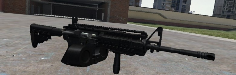 m4a1_para_thingy_hexed.zip For Garry's Mod Image 1