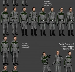 Sci-Fi Uniforms v3 For Garry's Mod Image 2