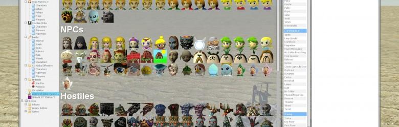 hugezeldapack_spawnlist.zip For Garry's Mod Image 1
