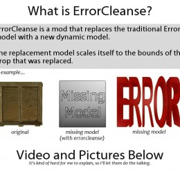 errorcleanse.zip For Garry's Mod Image 2