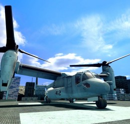 MV-22 Osprey For Garry's Mod Image 1