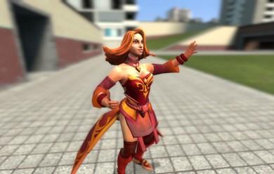 Dota 2 - Lina For Garry's Mod Image 2