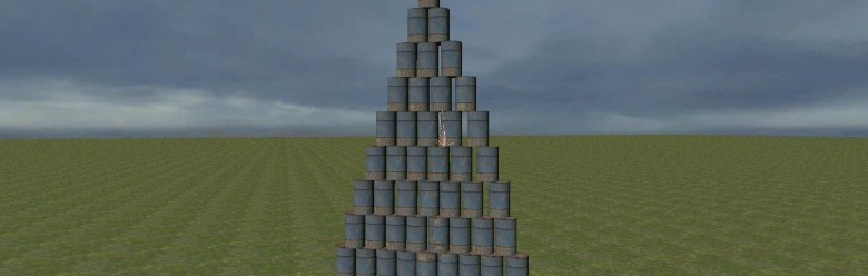 barrel_wall.zip For Garry's Mod Image 1