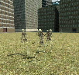 (OUTDATED) Skeleton NPC Pack For Garry's Mod Image 1