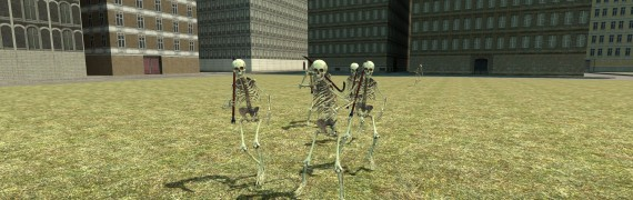 (OUTDATED) Skeleton NPC Pack