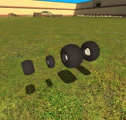 Offroad Wheels pack V2! For Garry's Mod Image 1
