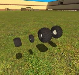 Offroad Wheels pack V2! For Garry's Mod Image 1