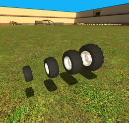 Offroad Wheels pack V2! For Garry's Mod Image 2