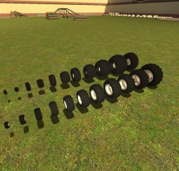 Offroad Wheels pack V2! For Garry's Mod Image 3