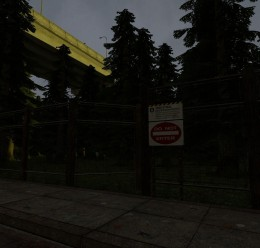 gm_forest_road_v1.zip For Garry's Mod Image 3
