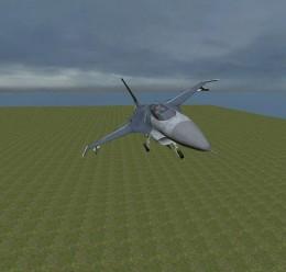 flyable_f16_jet.zip For Garry's Mod Image 1