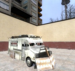 L4D Armored Truck Driveable For Garry's Mod Image 2