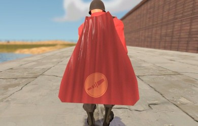cape_and_rocket.zip For Garry's Mod Image 1