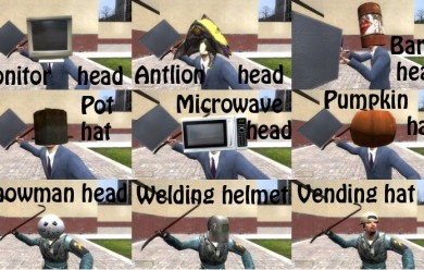 hats_pack.zip For Garry's Mod Image 1