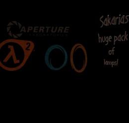 Sakarias' Lamp pack For Garry's Mod Image 1