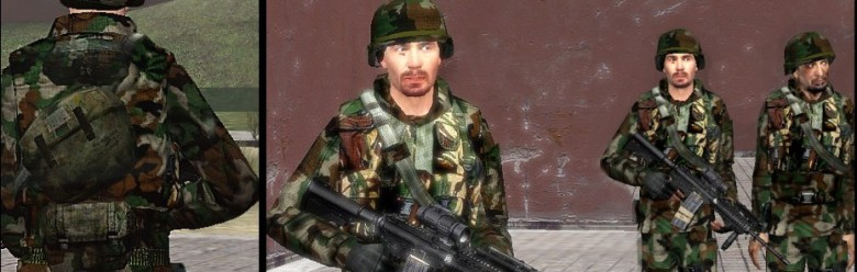 woodland_infantry.zip For Garry's Mod Image 1