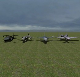 Air Crafts Pack 1 For Garry's Mod Image 1