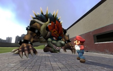 (SSBB) Giga Bowser Ragdoll V1 For Garry's Mod Image 2