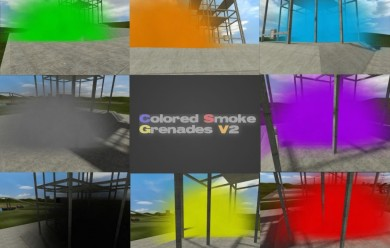 colored_smokes_grenades.zip For Garry's Mod Image 2