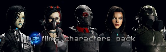 DPFilms Characters Pack