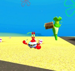 Spongebob characters pack For Garry's Mod Image 1