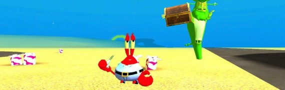 Spongebob characters pack