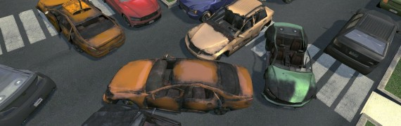 Crysis 2 Civilian Cars
