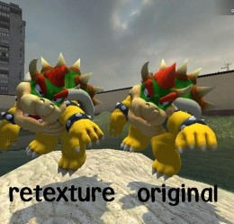 galaxy bowser re texture For Garry's Mod Image 3