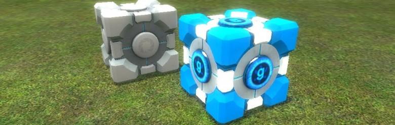 metalcube_bluecore.zip For Garry's Mod Image 1