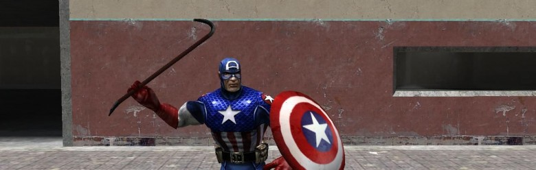 captain_america_player.zip For Garry's Mod Image 1