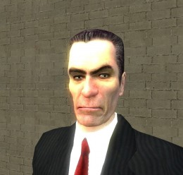 GMan Hi Resolution Re-Skin For Garry's Mod Image 1