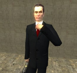 GMan Hi Resolution Re-Skin For Garry's Mod Image 2