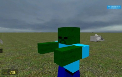 minecraft zombie.zip For Garry's Mod Image 1