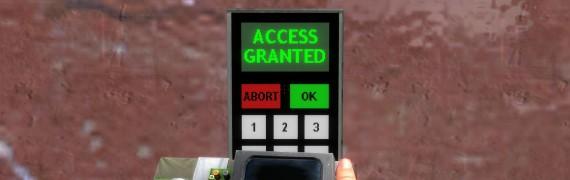 Admin keypad cracker