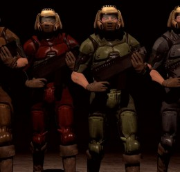DooM Marines V2 For Garry's Mod Image 2
