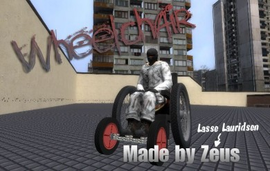 wheelchair.zip For Garry's Mod Image 1