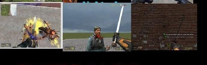 ultimate_sword_pack_v.2!.zip For Garry's Mod Image 1