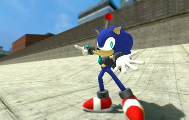sim_sonic_v1.0.zip For Garry's Mod Image 1