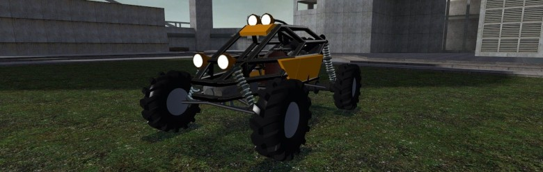 black_buggy_by_lawliet.zip For Garry's Mod Image 1