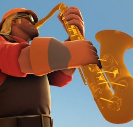 Saxophone prop For Garry's Mod Image 1