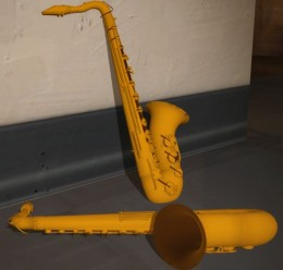 Saxophone prop For Garry's Mod Image 2