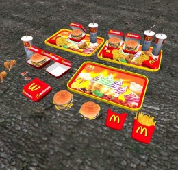 mcdonald's_food.zip For Garry's Mod Image 1