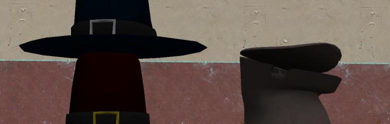 pilgrim_hat_hexed.zip For Garry's Mod Image 1
