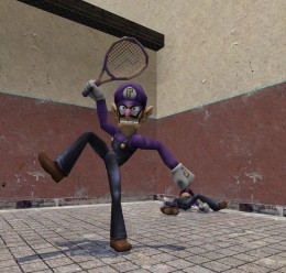 Super Smash Bros Waluigi Beta For Garry's Mod Image 2