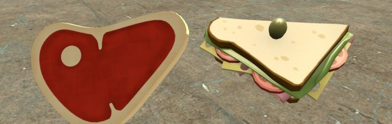 TF2 Buffalo Steak Sandvich For Garry's Mod Image 1