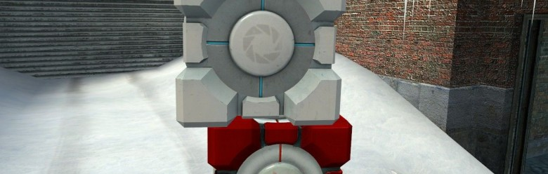 portal_commie_cube_skin_hexed. For Garry's Mod Image 1