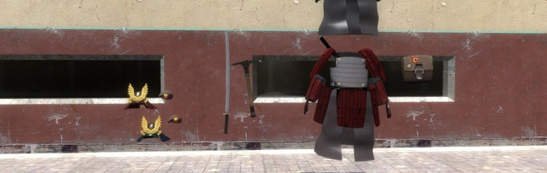 tf2_the_soldier_samurai_pack_h For Garry's Mod Image 1