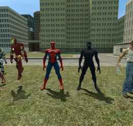 Spider-Man And Symbiote Spider For Garry's Mod Image 1