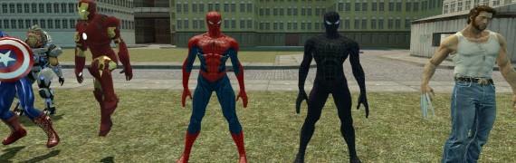 Spider-Man And Symbiote Spider