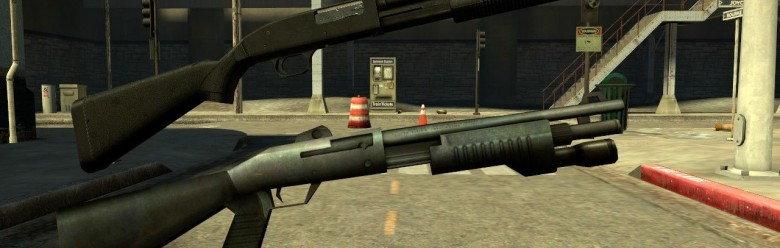 css_anti-death's_mossberg_hexe For Garry's Mod Image 1